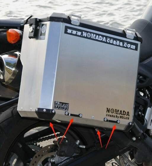 Soporte inferior maletas holan nomada pro