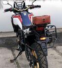Soporte asimétrico maletas Holan para Honda Africa Twin CRF1000
