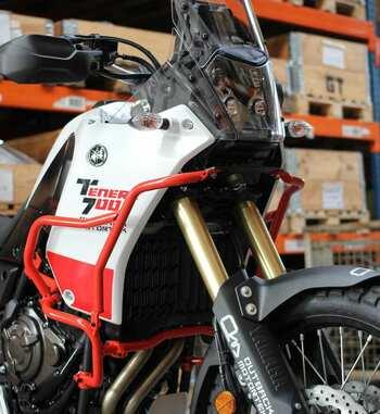 Barras de defensa superiores Outback Motortek para Yamaha Ténéré 700