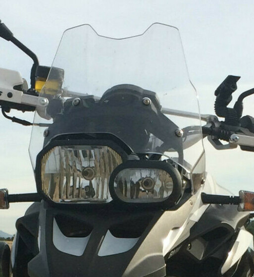 Paramanos Barkbusters VPS para BMW F800GS y Yamaha XTZ 1200 Super Tenere