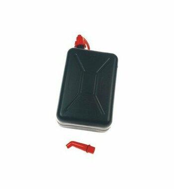 Bidón 2L aceite + soporte para maletas Holan