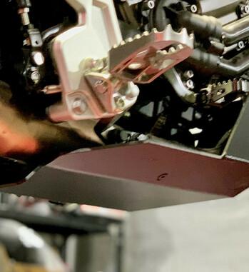 Cubrecarter Outback Motortek para Yamaha Tenere 700