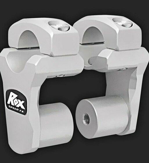 Alzas de manillar ROX de 50mm para manillar de 28mm de diametro