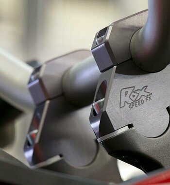 Alzas de manillar Rox de 38mm para manillar de 28mm