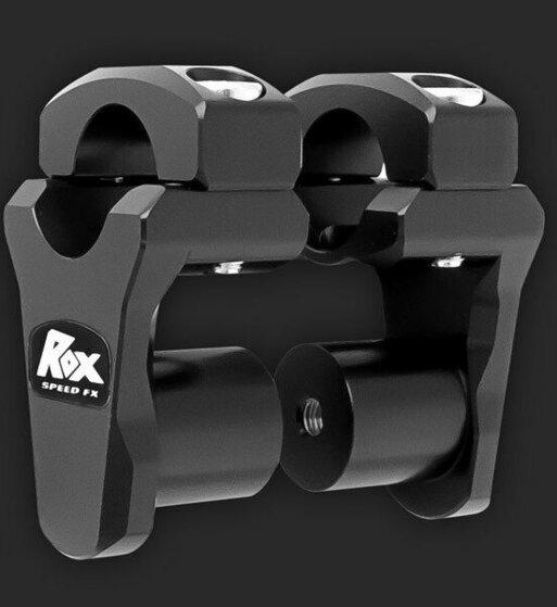 Alzas de manillar ROX de 44mm para manillar de 28mm de diametro